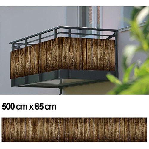 balkon sichtschutz sichtschutz dekor balkon dekor motiv holzpalisade - Balkon Sichtschutz Sichtschutz Dekor Balkon Dekor - Motiv Holzpalisade