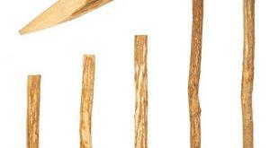 BOOGARDI Zaun Pfosten Haselnuss · Viele Groessen · Zaun Pfahl fuer Ihren 310x165 - BOOGARDI Zaun-Pfosten Haselnuss · Viele Größen · Zaun-Pfahl für Ihren Staketenzaun / Bauernzaun / Kastanienzaun